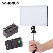 YONGNUO YN-300 YN300 Oficial Ar Air Pro LED Luz de Vídeo Da Câmera com kit Carregador de Bateria Luz fotografia para Canon Nikon