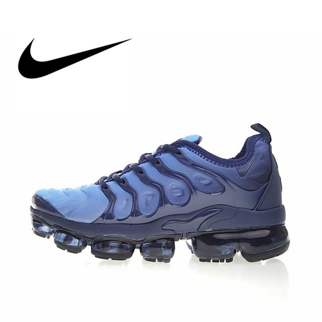 Nike Air Vapormax Plus TM Men's Breathable Running Shoes Sport Outdoor Sneakers Athletic Designer Footwear 2018 New 924453-401