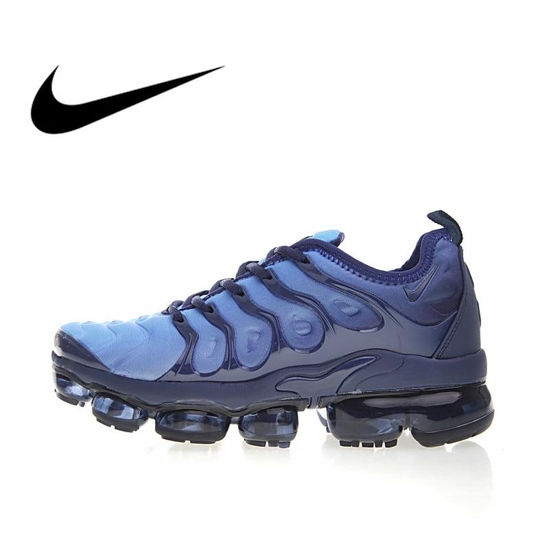 9f0c1af74 Nike Air Vapormax Plus TM Men s Breathable Running Shoes Sport Outdoor  Sneakers Athletic Designer Footwear 2018 New 924453-401
