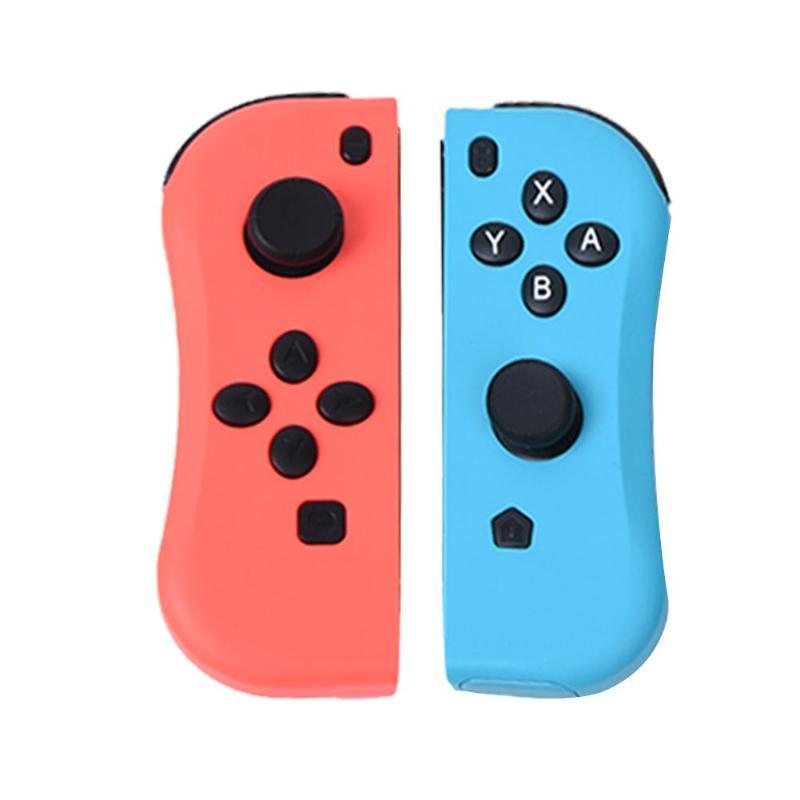 ALLOYSEED 2 pièces Sans Fil Manettes Remplacement Bluetooth Jeux Tampons Accessoires Contrôleur Gamepad Poignée pour Nintend Commutateur