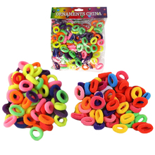 About 400PCS Korean Elastics Rubberbands Ponytail Holder Tie Gum Hair Accessories Hairdressing Ties Rings Ropes for Girls