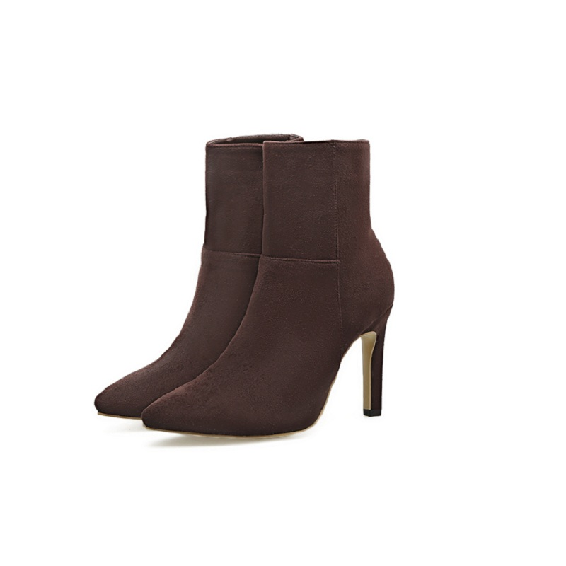 Здесь можно купить  2018 autumn new foreign trade models plus velvet thickened pointed stiletto women