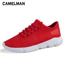 Men Oudoor Sport Shoes Mesh Breathable Fashion New Designer Trending Sneakers Men Soft and Comfortable Footwear Plus Size 39-45