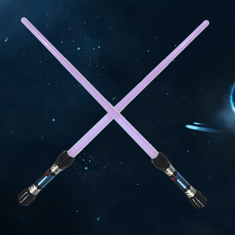 Lightsaber laser Sword Retractable Childrens Toys luminous Sound Effects Performance Props Boys And Girls Outdoor