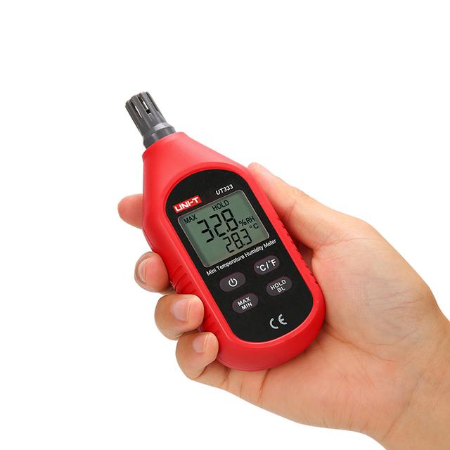 Hygrometers Air Temperature and Humidity Meters Moisture Meter SensorUNI-T UT333 Mini LCD Digital Thermometer