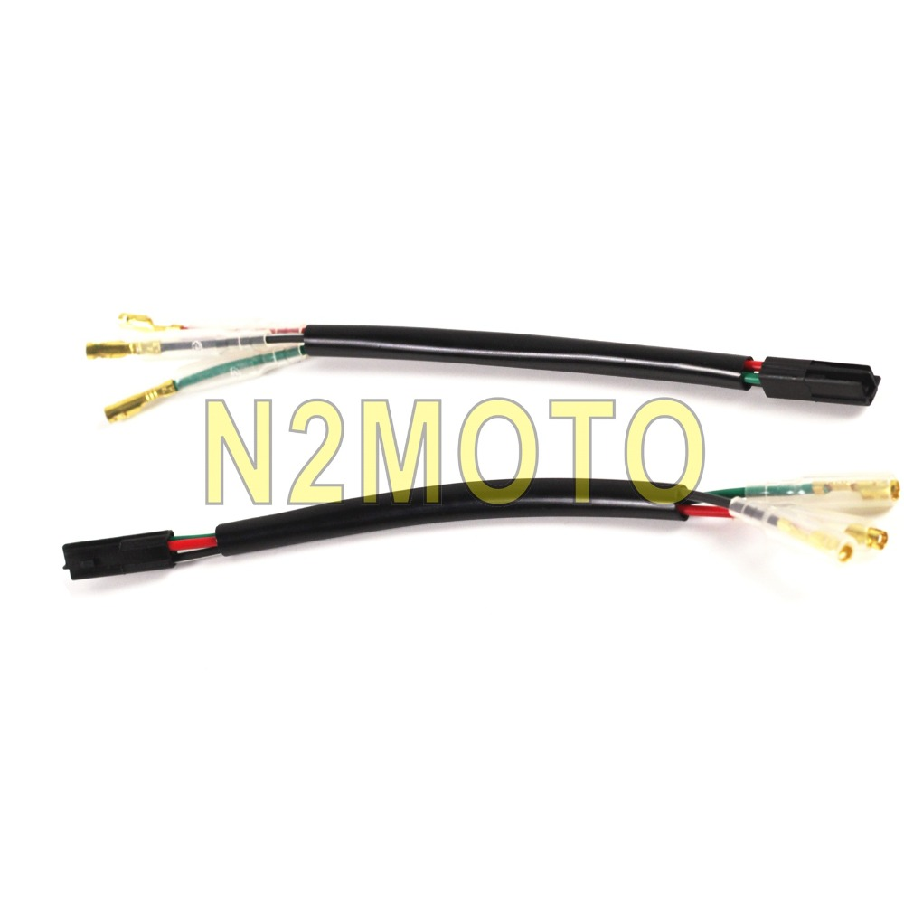 motorcycle 3pin wire adapter indicator wiring plug lead. Black Bedroom Furniture Sets. Home Design Ideas