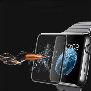 Image 4 - Suntaiho Dành Cho Đồng Hồ Apple 4 Tấm Bảo Vệ Màn Hình 4D Kính Cho Đồng Hồ Apple 42 Mm 38 Mm 40 Mm 44mm Dùng Cho Các Dòng Đồng Hồ Apple 2 1 3 4