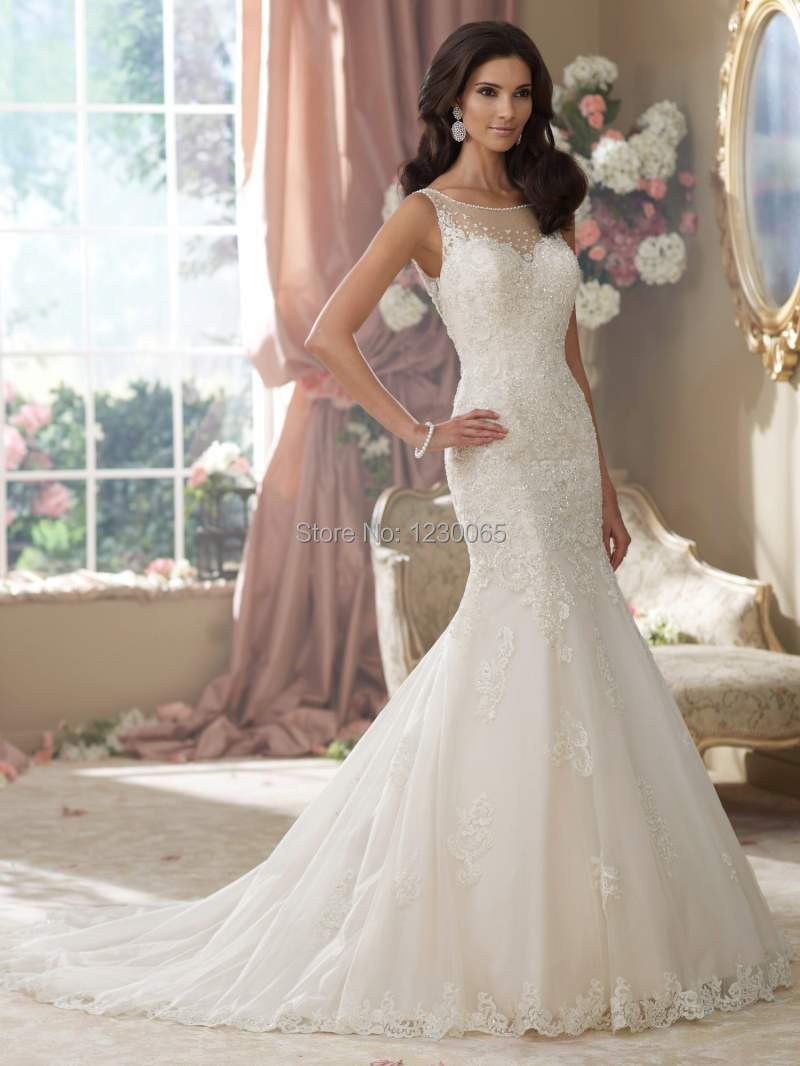 Custom Bride Lace Mermaid Free Shipping Backless Vestido De Noiva Longo Casamento Romantic Beading Mother Of The Bride Dresses