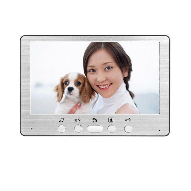Купить видеодомофон yobang водонепроницаемый телефон с экраном 7 дюймов картинки