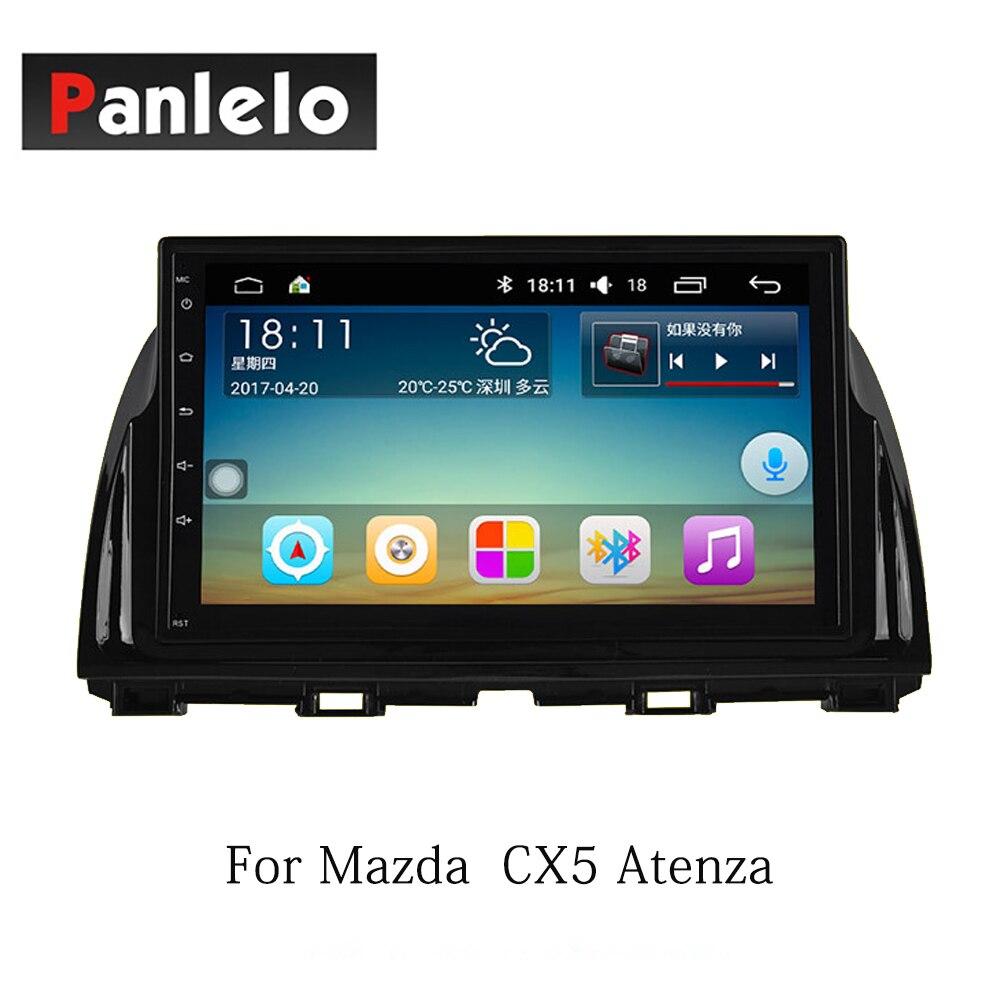 Panlelo Android 7.1 2 Din pour Mazda 6 Atenza CX5 Atenza Axela Auto 1 GB 16 GB Radio AM/FM GPS Navigation BT commande au volant - 2