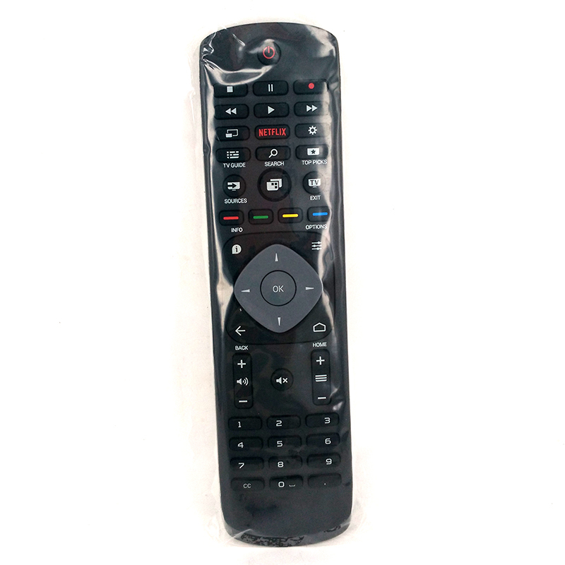 New Original Remote Control 398GR08BEPH06R RC3154602/01 With NETFLIX For PHILIPS Smart TV controle remoto mando a distancia new remote control tvrc51312 12 ykf315 z01 for philips tv with keyboard