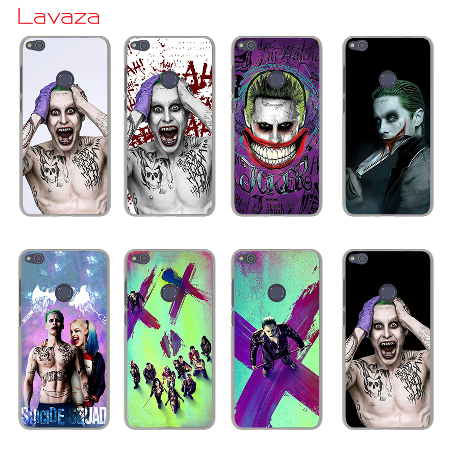 Lavaza SUICIDE SQUAD POSTER CHARAKTERE Hard Phone Case for Huawei Mate 10 Lite Pro G7 & Honor 9 8 Lite 7 7X 6 6A 6X 4X 4C Cover