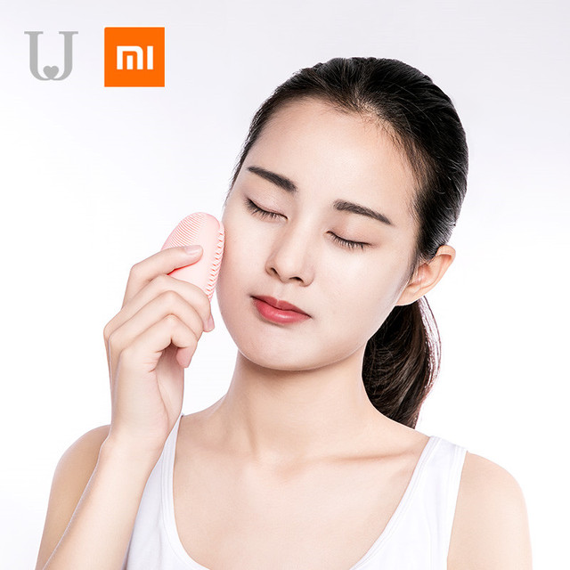 Xiaomi mijia sonic facial cleansing brush Mini Electric Massage Washing Machine Waterproof Silicone Deeply face Cleansing Tools 4