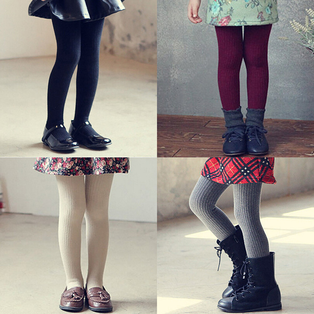 a44646504d6 2016 Autumn Winter New Korean Candy Colors Girls Tights Velvet Vertical  Stripes Kids Tights Children Thick Stocking Pantyhose