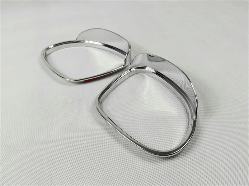 Car-Styling Accessories Rearview Mirror Eyebrow Trim ABS Chrome Fit For Volkswagen 2010 2011 2012 2013 Tiguan VW Accessories car rear trunk security shield cargo cover for volkswagen vw golf 6 mk6 2008 09 2010 2011 2012 2013 high qualit auto accessories