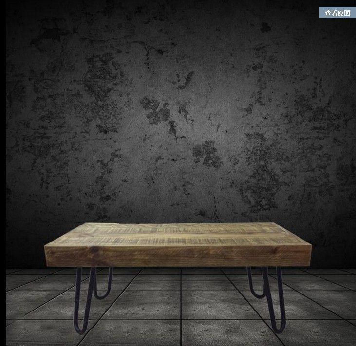 Comparer les prix sur wooden furniture wheels online shopping acheter pri - Table basse carree bois et fer forge ...