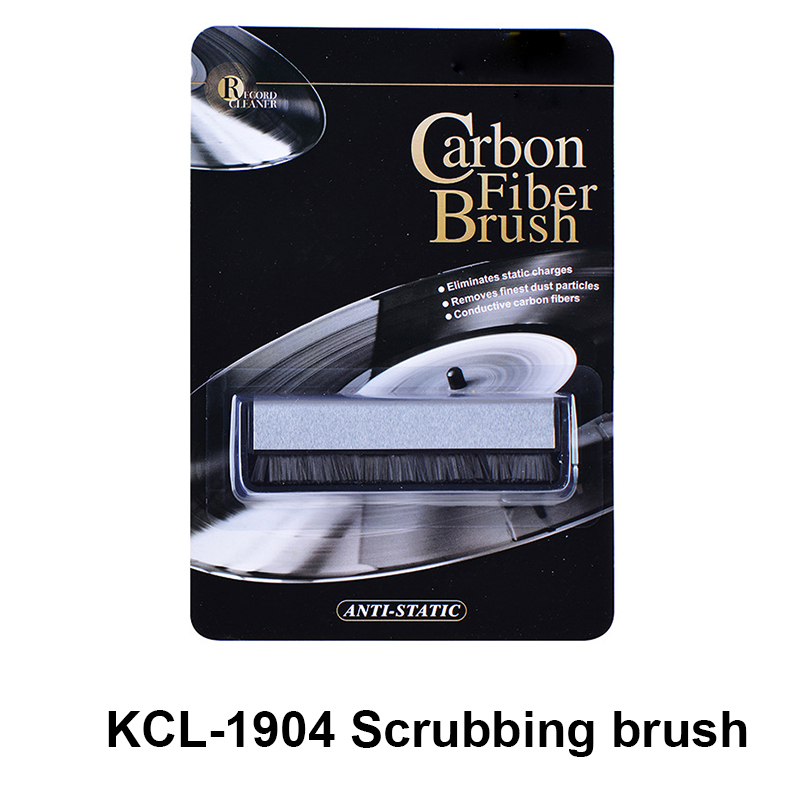 LEORY Vinyl Records Cleaning DuPont Scrubbing Brush OR Villi Brush Kits For LP Phonograph Turntable Record Longplay Cleaning Kit
