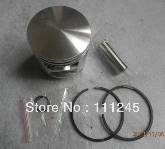 PISTON KIT 52MM FOR STIHL TS510 <font><b>TS500</b></font> AV 050 051 CONCRETE CHOP CUT OFF SAW CYLINDER ASSEMBLY ZYLINDER RING CLIP PIN PARTS image