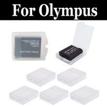 Горячая Распродажа прозрачный ящик для хранения батареек для цифровой камеры olympus OM-D Mark E-M1 E-M10 II E-M1 III E-M10 II E-M1X E-M5 E-M5 II