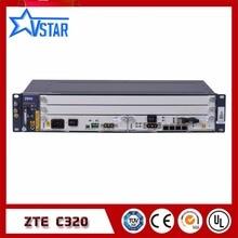 Original ZTE 2U ZXA10 C320 GPON/EPON OLT high-integration equipment of small model Optical Line Terminal