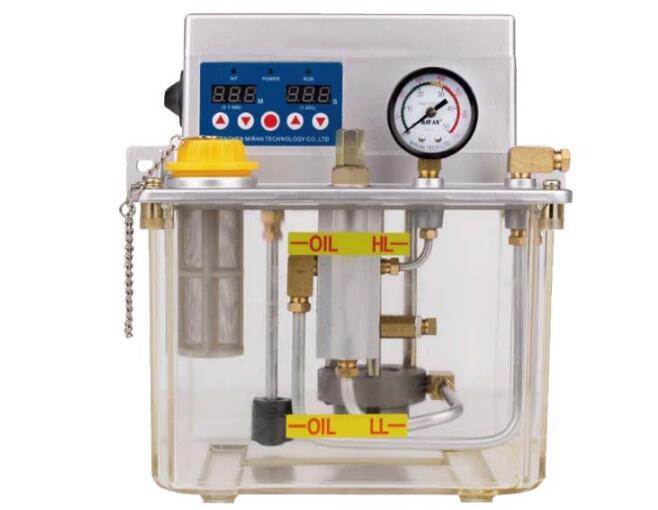 Miran 3 litres MR-2232-310XAB pompe à huile lubrifiante automatique avec alarme sonore pompe à huile lubrifiante électrique pour Machine à CNC
