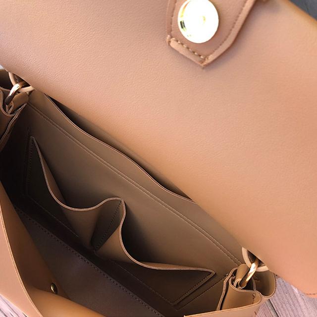 Causal Totes Bags Women Large Capacity Handbags Women PU Shoulder Messenger Bag Female Retro Daily Totes Lady Elegant Handbags