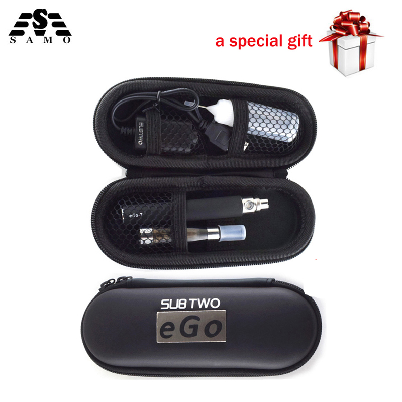 SubTwo Ego ce4 e-cigarettes kit 650-1100mah ego battery 1.6ml ce4 atomizer electronic hookah pen vaporizer smoke vape pen