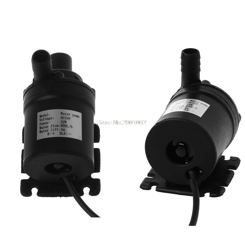 800L/H 5m DC 12V Solar Brushless Motor Water Circulation Submersible Water Pump -B119