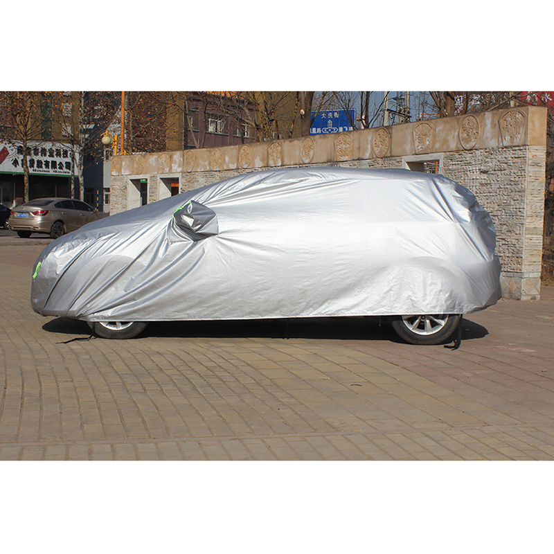 Image 4 - Full Car Covers With Side Door Open Design Waterproof For Renault Capture Sandero Megane 2 Clio Logan Fluence Car Accessories-in Car Covers from Automobiles & Motorcycles