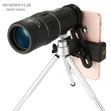 16X52 Dual Focus Monocular Spotting Night Vision Telescope Zoom Optic Lens Binoculars  Hunting Scope Coating Lenses A