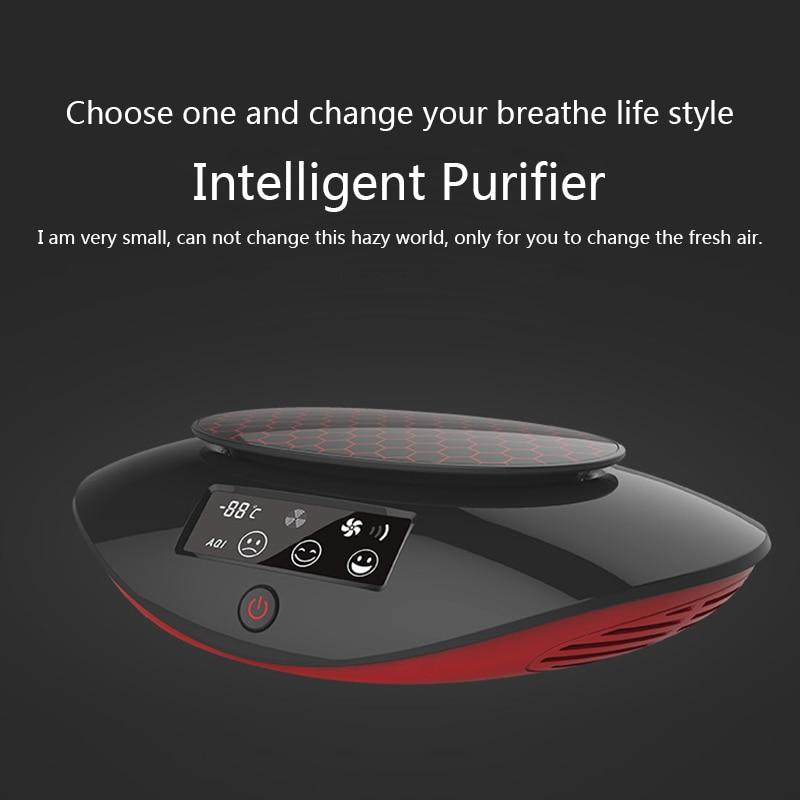 Multi-but Voiture Humidificateur Purificateur D'air Ioniseur avec Stériliser LED Affichage Nano-évolution Réactive Technologie de L'oxygène