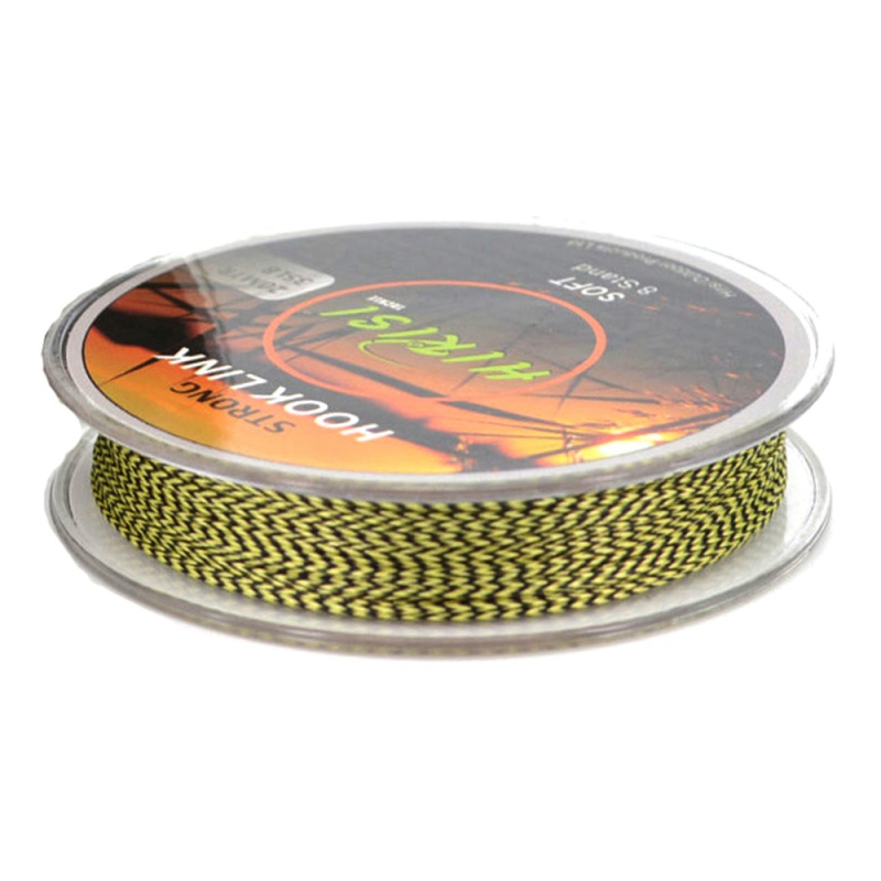 1 PC 20M Lead Core Camouflage Fishing Line 4 Strands PE Lines Hair Rigs Hook Carp Fishing Line Braided Fishing Accessories