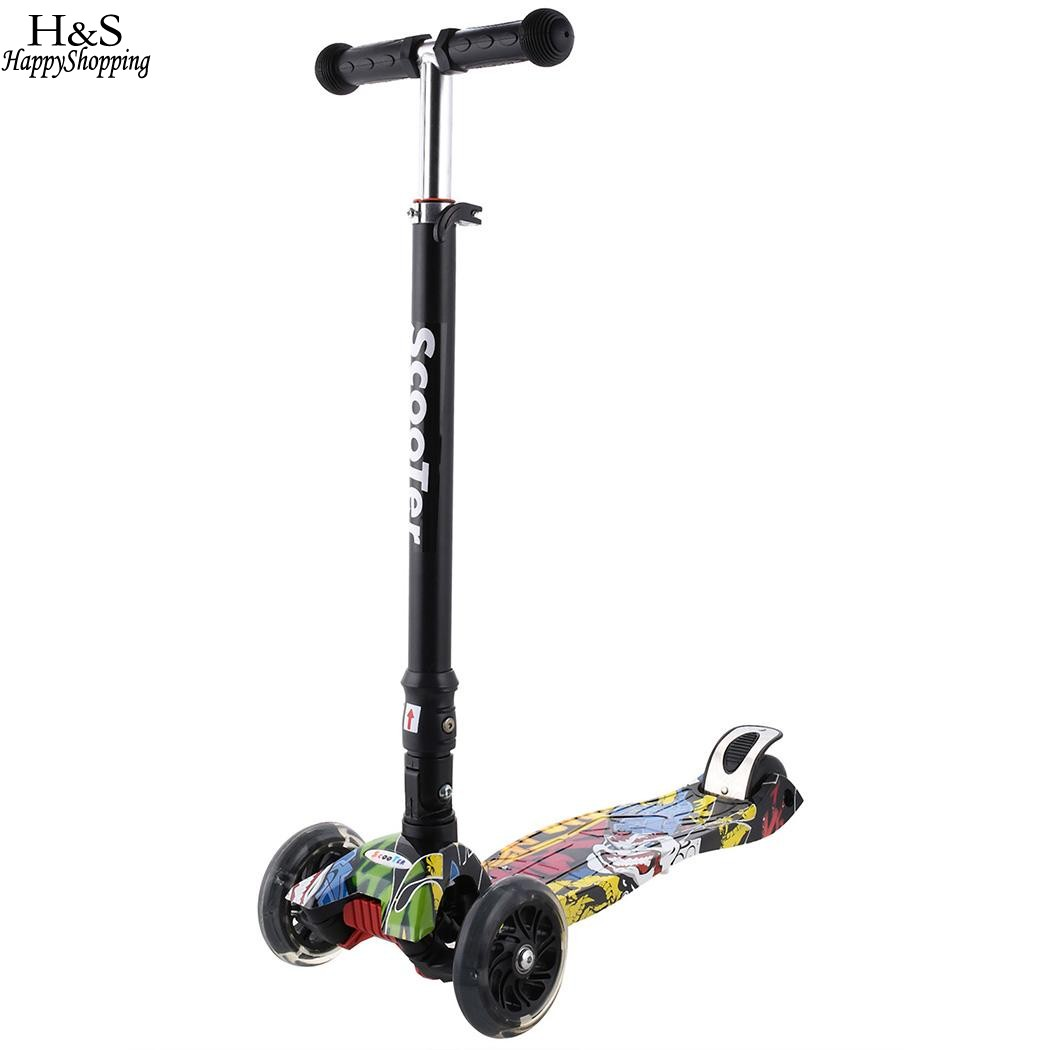 Ancheer Brand New Aluminum Alloy Kick Scooter Boys Girls Adjustable Height Kids Scooter  ...