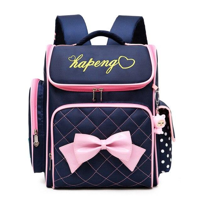 50942e00c153 2018 Children School Bags Girls Orthopedic Backpacks schoolbag Waterproof  Backpack primary school Backpack Kids Satchel Mochila