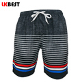 LKBEST Fashion striped Men boardshorts mesh Lined Casual Mens beach Shorts plus size men swimwear shorts Q105