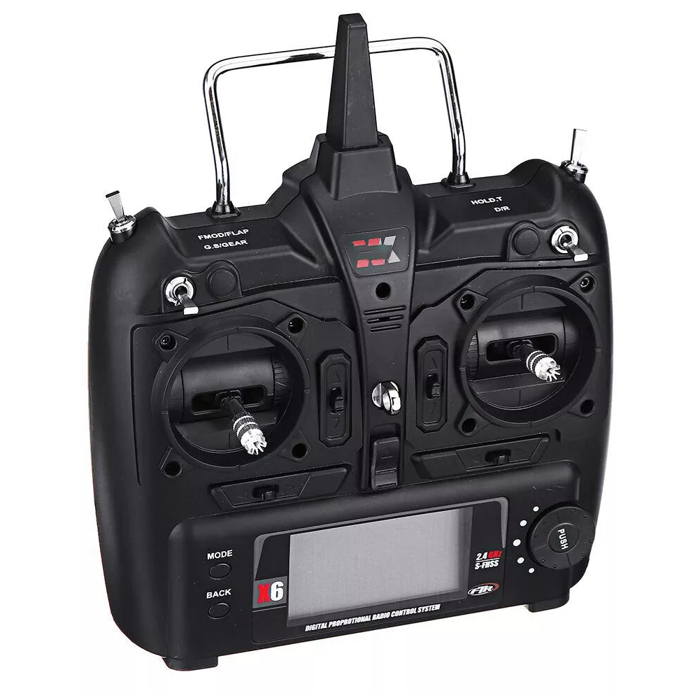 X6 haute Simulation remplacement RC jouet accessoires contrôle de mouvement hélicoptère transmetteur roulant sans mouche conception pour XK K130