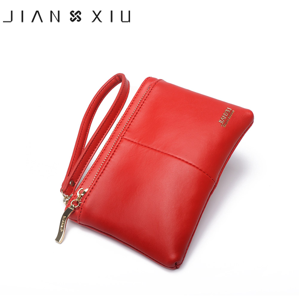 JIANXIU Brand Fashion Women Wallets Carteira feminina Carteiras Purse Billetera Carteras Split Leather Wallet Portefeuille Money