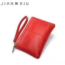 JIANXIU Brand Fashion Women Wallets Carteira feminina Carteiras Purse Billetera Carteras Split Leather Wallet Portefeuille Money