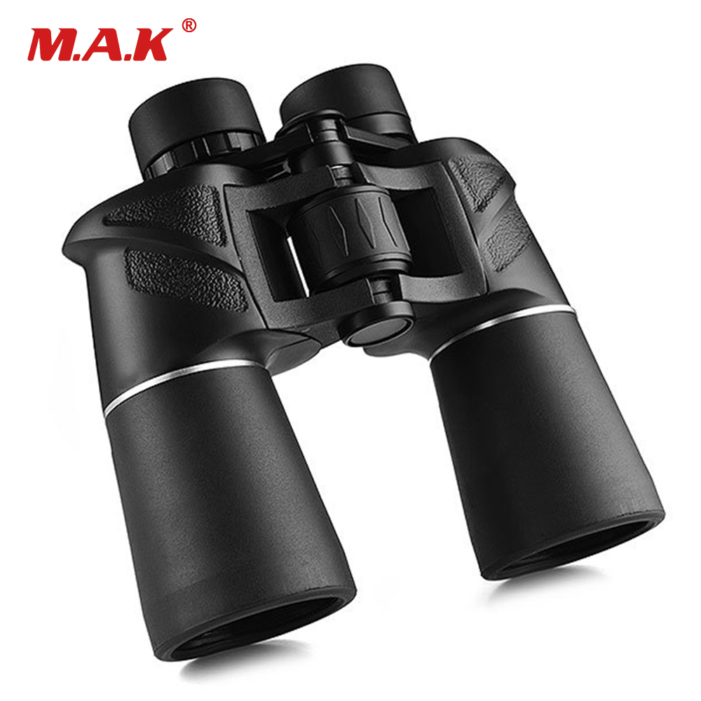 10x50 Binoculars FMC Green Film Coated Waterproof Optics 168FT/1000YDS Telescope for Hunting Camping bosma surf 7x18 binoculars multi coated waterproof binoculars pocket telescope viewing telescope
