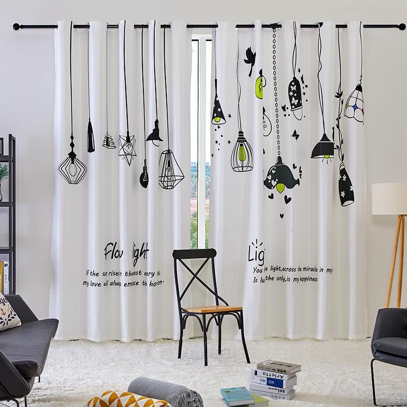 Cortinas pequeñas de luz escandinava coreana para proteger del sol, cortinas personalizadas para la sala de estar, comedor, dormitorio, cortinas de ventana NEO Coolcam Smart Home Z Wave Plus, interruptor inteligente de cortina para cortina eléctrica motorizada, persiana enrollable