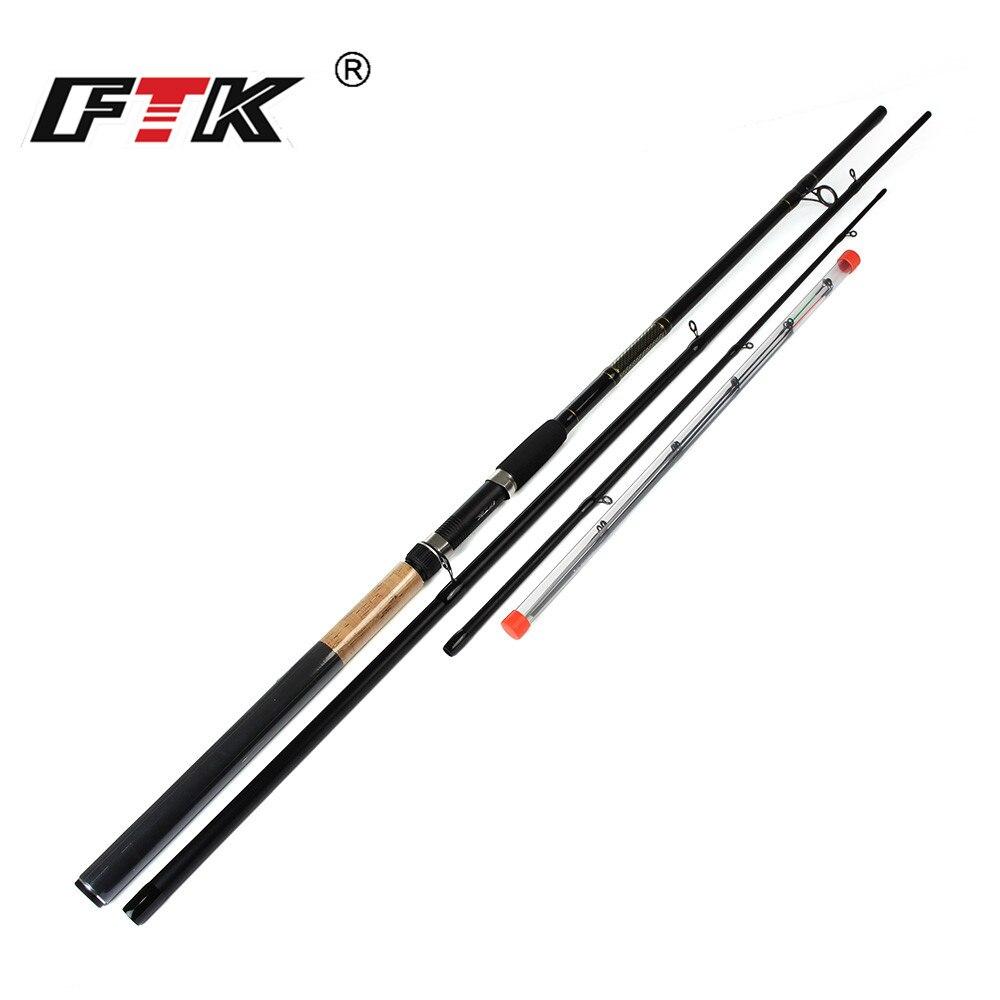 FTK 60% Carbon Karpfen Angelrute mit Drei Arten Rod Tip 3 Abschnitte Feeder Angelrute Surper Harte Angelrute