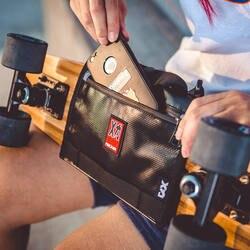 Mackar оригинальный дизайн прилив бренд рыбка пластина скейтборд сумка Многофункциональный портативный Скейтборд сумка мужской