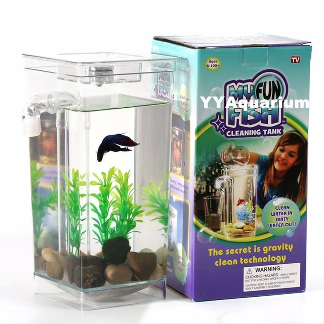 Comprar forma cuadrada de acr lico de mini for Peces para acuarios pequenos