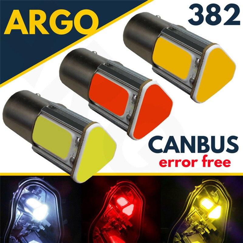 2x 1156 BA15S 382 P21W SAMSUNG LED Car Turn Signal Reverse Backup Light Bulb 12V