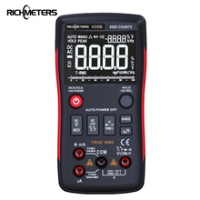 RM409B True-RMS Digital Multimeter Button 9999 Counts With Analog Bar Graph AC/DC Voltage Ammeter Current Ohm Auto/Manual все цены