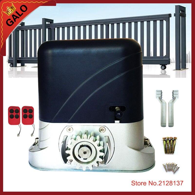 GALO 500kgs Automatic Sliding Gate Opener , Sliding Door operator for sliding door electrical motor automatic sliding gate opener for home automation 1000kg
