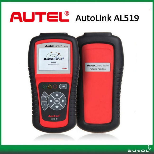 Autel AutoLink AL519 NEXT GENERATION OBDII&CAN SCAN TOOL With TFT Color Display Turns Off Check Engine Light Read / Clear Codes 100% original autel autolink al519 code reader obdii eobd can scan tool updated online autolink al519 scanner free shipping
