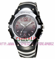 2016 Hot Brand Pasnew Dual Time Modes Sport Electronic Wrist Watch With LED Backlight 100M Waterproof