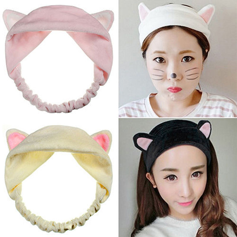 Styling Tools Braiders 1 Pc Hot Sale Cute Womens Lady Girl Elastic Grail Cat Ears Headdress Hair Braiders Accessories Party Gift