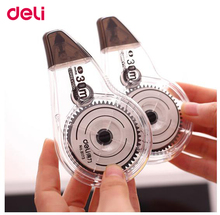 Deli correction tape 2 pcs/set 5mmx30mx2pcs durable total 60m school and office supplies white sticker